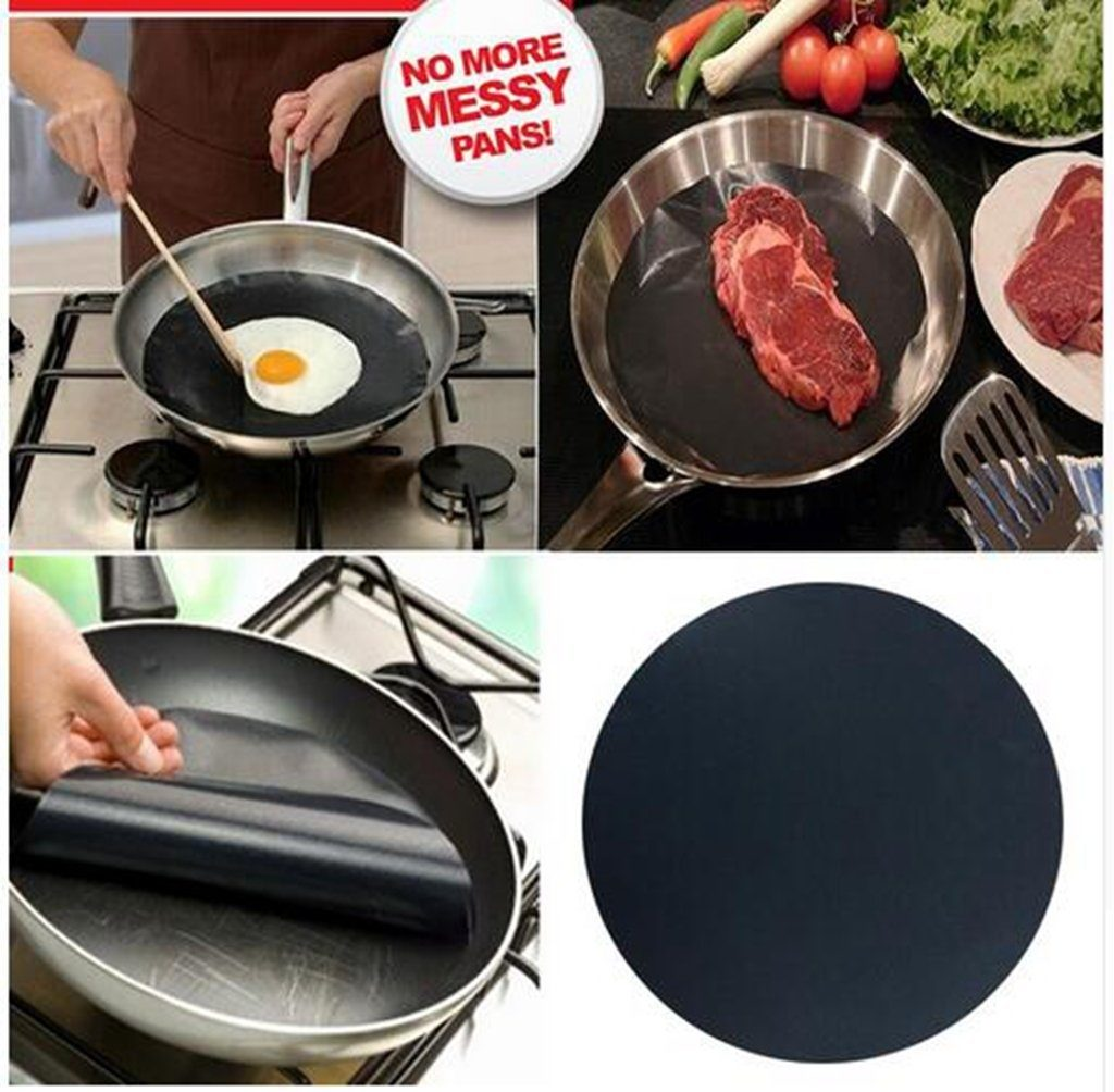 Universal Non-Stick Round Pan Liner (Set of 2)