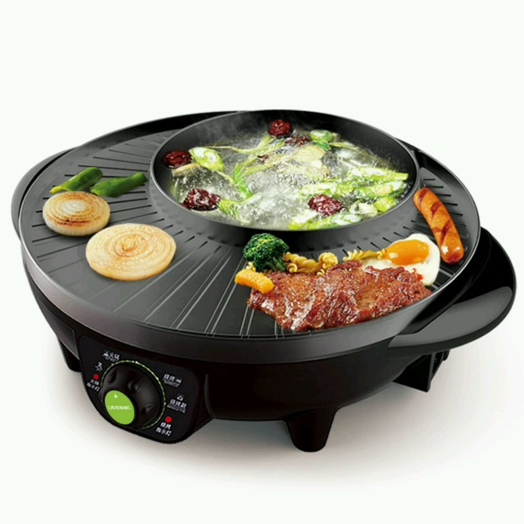 1.8L Electric Multi-Functional Non-Stick Cooker