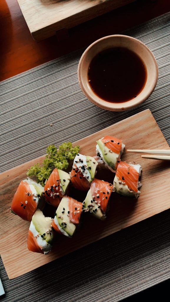 Why Famous Sushi Is So Healthy